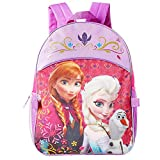 Disney Frozen Backpack and Lunch Bag Set for Girls Kids (Frozen School Supplies)