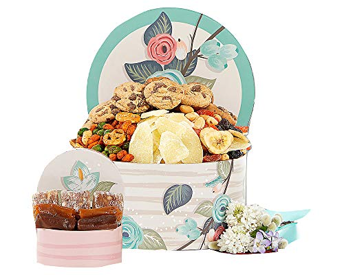 Happy Birthday Sweets and Cookies Gift Basket