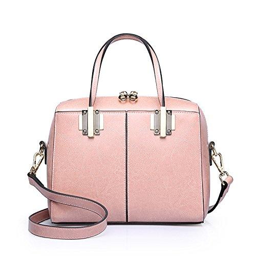 De De Bolsos Del La Mujer La Bolsos Del Ocasionales Moda De Pink De Totalizador Compras Bolso Vendimia Hombro Para Mini AfxawqPSw