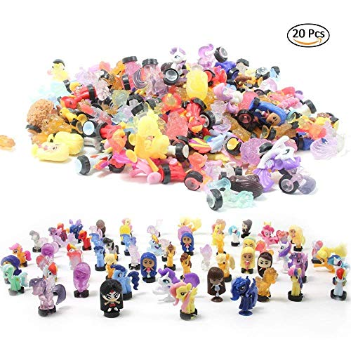 - QTFHR Random Cute Miniature Doll, Mini Cute Bottom with Suction Cup Doll Toy Cake/ Plant/ Car Decoration (20 Pcs)