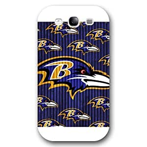 Customized NFL Series For Case HTC One M8 Cover, NFL Team Baltimore Ravens Logo For Case HTC One M8 Cover, Only Fit For Case HTC One M8 Cover (White Frosted Shell)