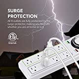 BN-LINK 8 Outlet Surge Protector with Mechanical