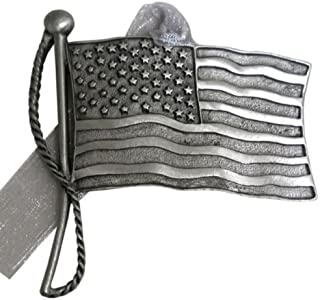 product image for Gloria Duchin Genuine Pewter American Flag Ornament