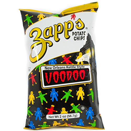 Zapps Potato Chips - Voodoo - 2 oz (Pack of 2)