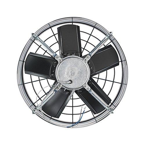 Ventilador Axial Exaustor Industrial, Ventisol, Preto 40cm