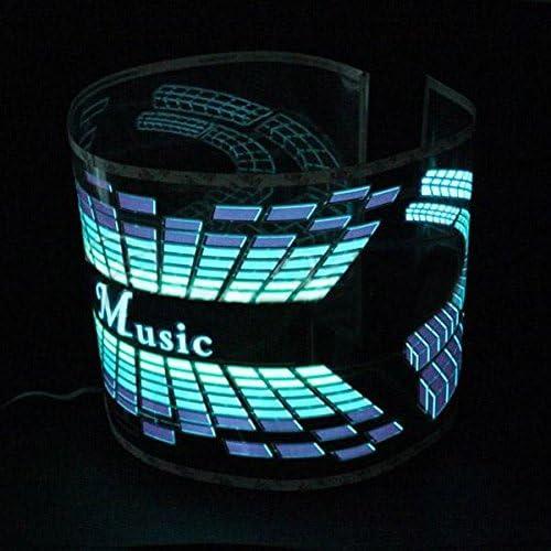 Musik Rhythm Sound Aktiviert Equalizer Led Licht Lampe 12v Auto Aufkleber Auto