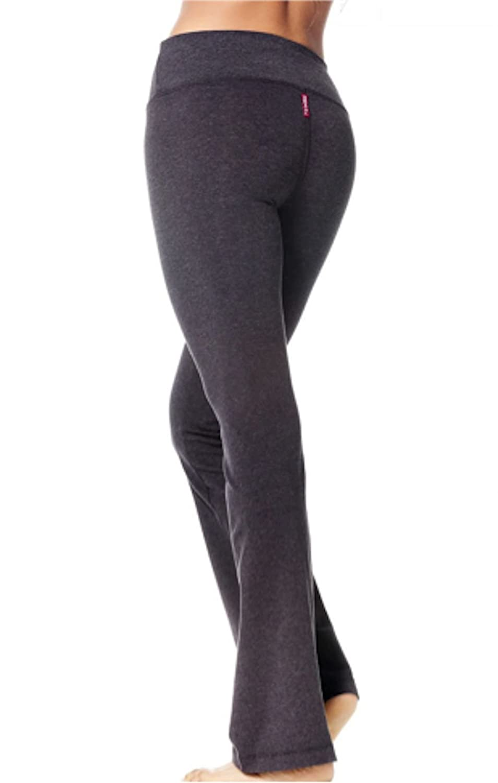 Amazon.com: Cola duro Flat Cintura Flare Yoga pantalones ...