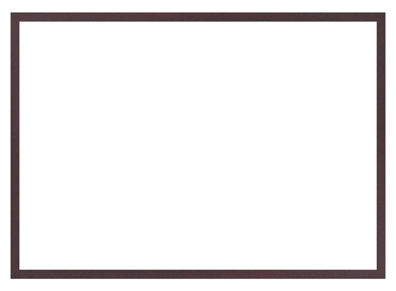 デッサン額、桜平型 セピア B2 729×516 アクリル 受注生産 B01FCX3JWKブラウン 58×79×3.5cm
