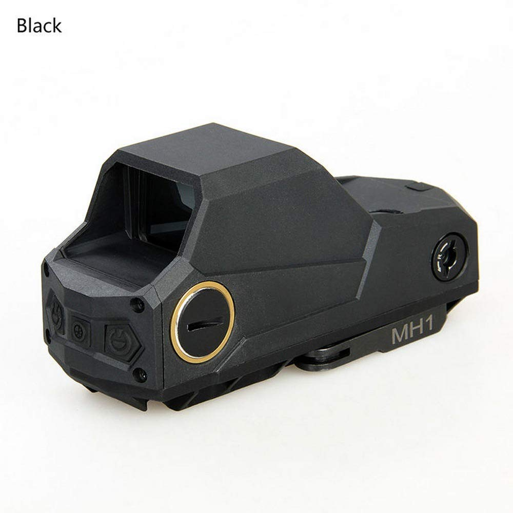 Laecabv MH1 Tactical Red Dot Sight Scope Reflex Sight Holographic Dual Motion Sensor Sight Night Vision Scope with QD Quick Detach Mount Scope by Laecabv