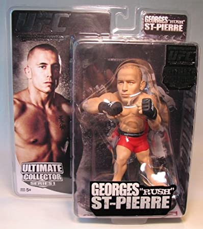 UFC ROUND 5 Georges St-Pierre Ultime Collector SERIES 8 Figure World of MMA