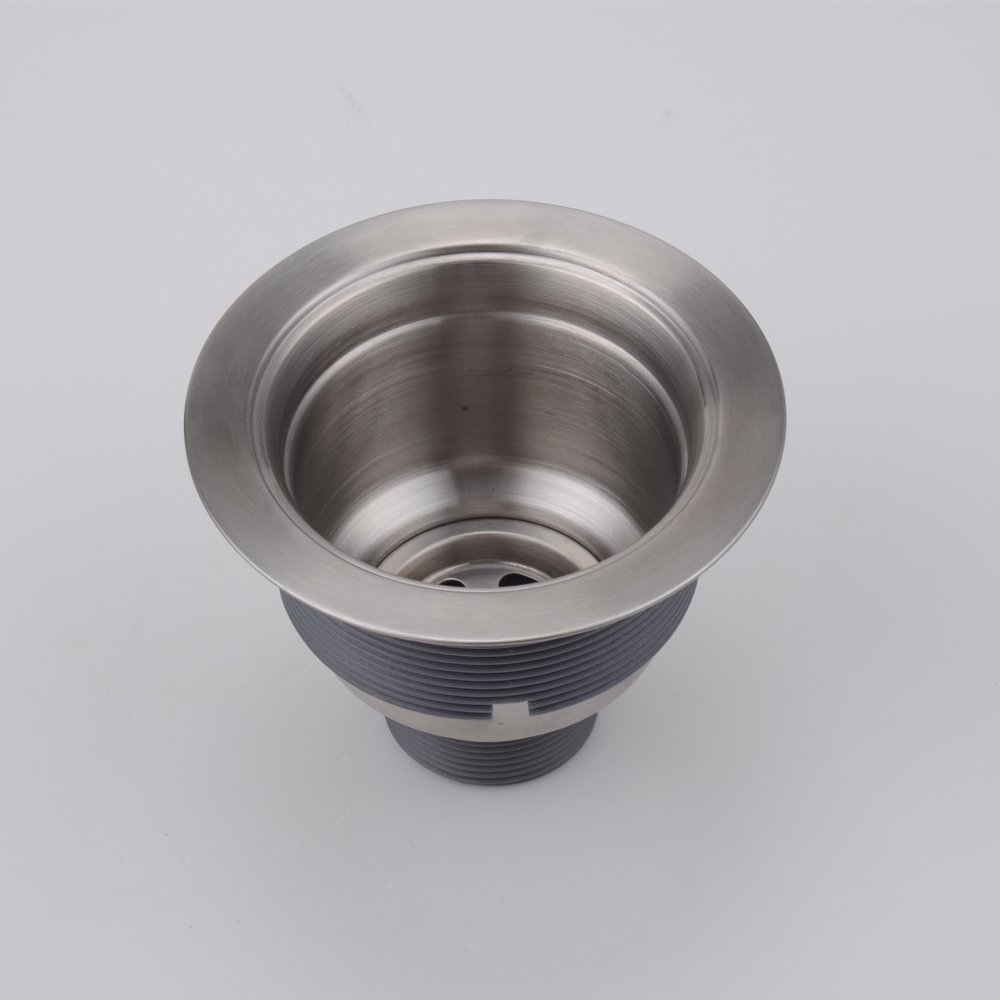 KES Kitchen Sink Drain, Stopper (3-1/2-Inch) With Basket