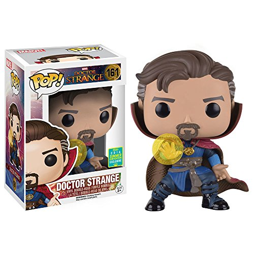 Doctor Strange Dr Strange with Rune Vinyl Bobble-Head 161 Figura de coleccion Stand