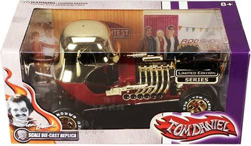 Tom Daniel Red Baron Limited Edition Gold Diecast 1:18 Car