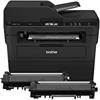 Brother Compact Monochrome Laser All-in-One Multi-function Printer, MFCL2750DWXL Extended Print, Up to Two Years of Printing Included, 2.7-Inch Color Touchscreen, Wireless Connectivity