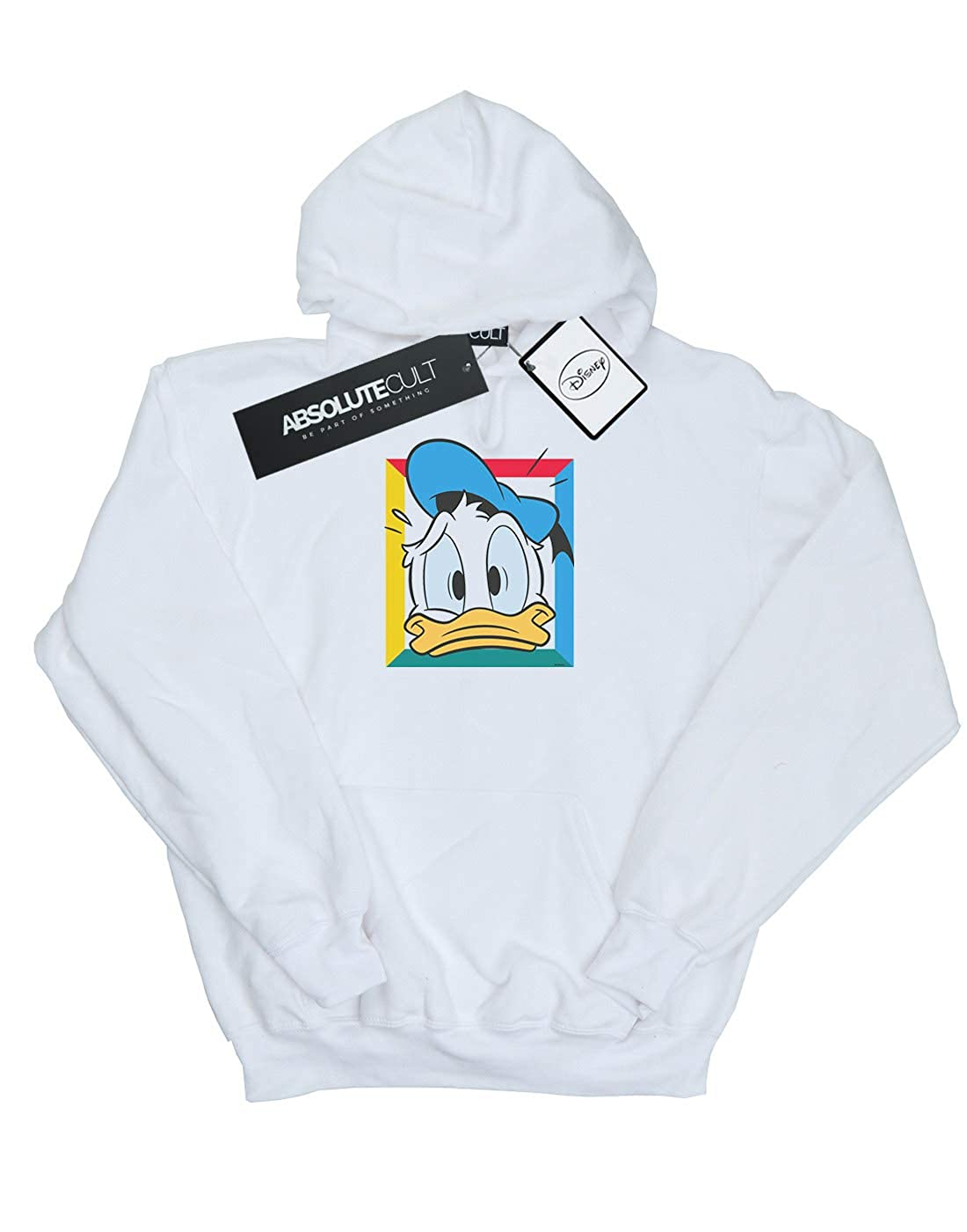 Disney Girls Donald Duck Panicked Hoodie