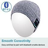Qshell Washable Bluetooth Beanie Warm Soft Winter
