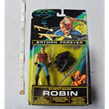 Batman Forever Street Biker Robin With Launching Grappling Hooks And Battle Staff By Kenner in 1995 by Giochi Preziosi