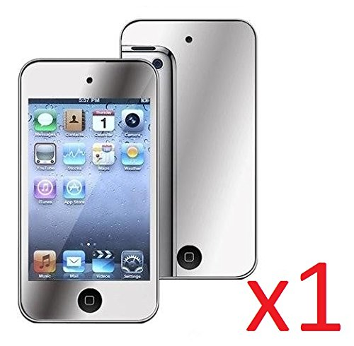 eTECH Collection 1 Pack of Mirror Reflected Style Screen Protector for Apple iPod Touch 4, iTouch 4 - from USA