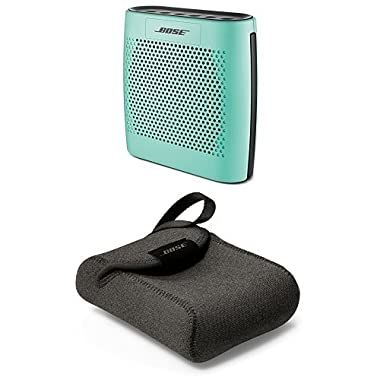 Bose SoundLink Color Bluetooth Speaker (Mint) with Carry Case