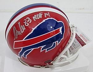 Andre Reed HOF 14 Buffalo Bills Autographed/Signed Mini Helmet JSA