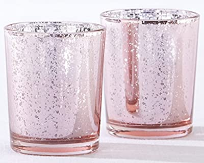 Kate Aspen Mercury Glass Tealight Holders