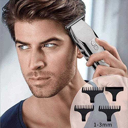 Electric Clippers Trimmer Clipper Razor Beard Hair Fine-Tuning Men S Professional Home Set Group Usblcd Multi-Function  GdBJO