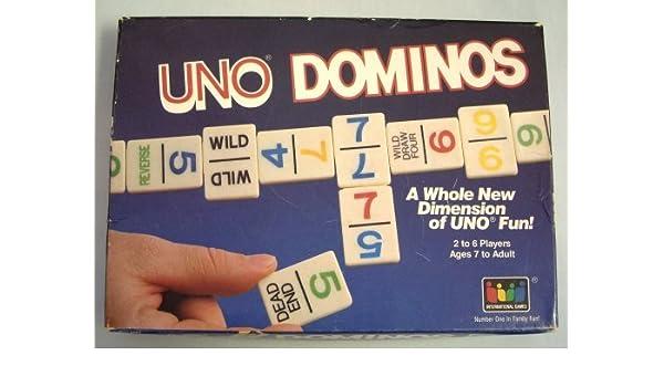UNO Dominos by UNO: Amazon.es: Juguetes y juegos
