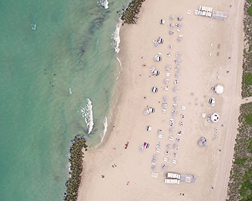 Miami Beach Edition Hotel Paradise Found Aerial Fine Art Photography Print by Roman Gerardo by Roman Gerardo Miami Beach Fine Art Photography Prints