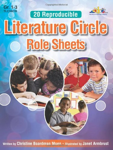 20 Reproducible Literature Circle Role Sheets: for Grades 1-3