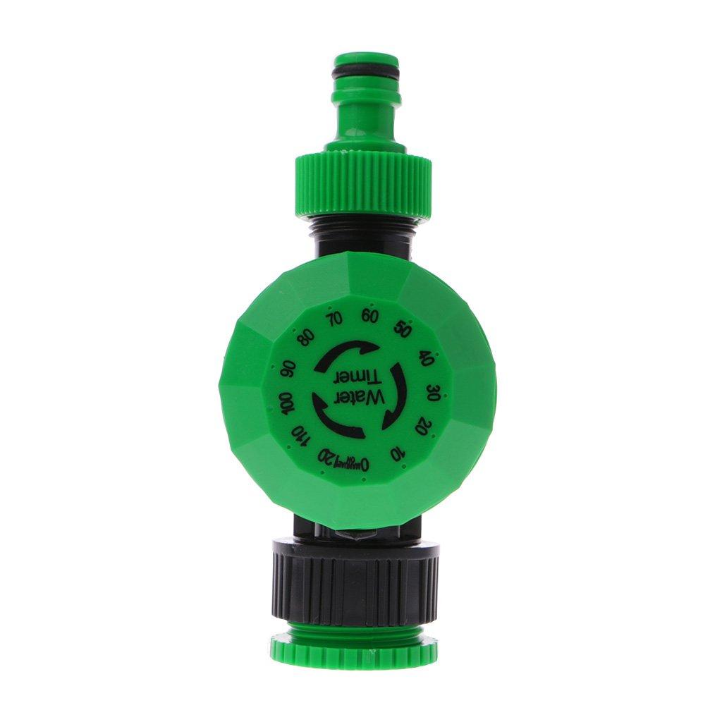 Lunji Bewässerungsregler, 2 Stunden automatische elektronische Wasser Timer Bewässerungssteuerpult Set für Garten/Rasen/Balkon (Keine Batterien erforderlich.) Lunji Bewässerungsregler