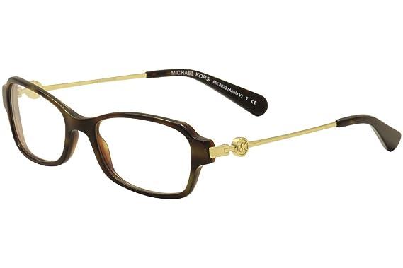 Michael Kors ABELA V MK8023 Eyeglass Frames 3135-52 - Dk Tortoise ...