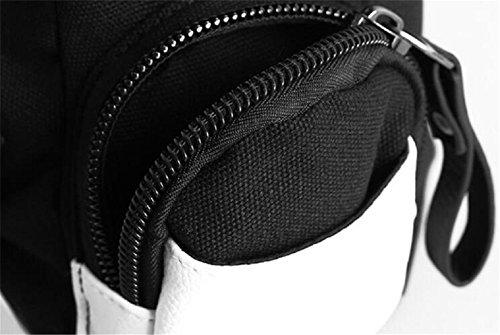 JUSTGOGO Casual Messenger Bag Crossbody Bag Shoulder Bag Travel Bag Handbag Tote Bag (1) by JUSTGOGO (Image #5)