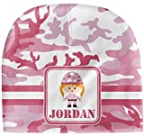 RNK Shops Pink Camo Baby Hat (Beanie) (Personalized)
