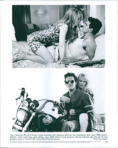 - Vintage photo of Two scenes of Nicole Kidman and Matt Dillon in the film