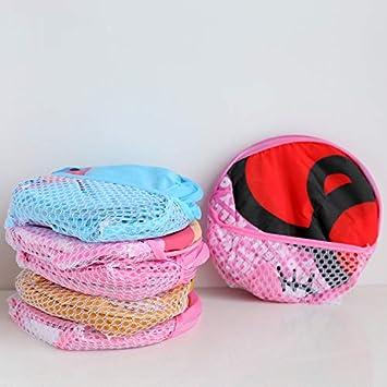 Benlasen Cesto della Biancheria Cestino per Organizer per cestello portaoggetti per Neonato o Bambina Modello Orso Rosa o Blu ed Elefante