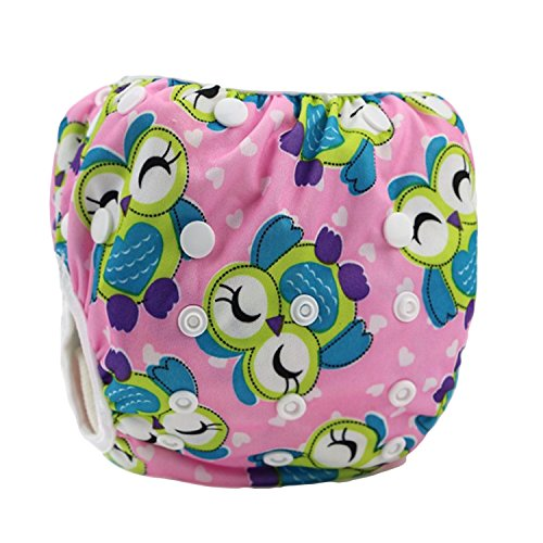Leakproof Washable Reusable Swim Diapers for Kids 0