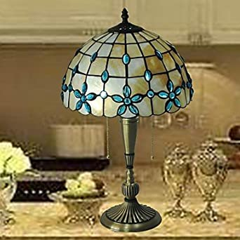 12 pulgadas de material de cobre vidrieras tiffany mesa de luz ...