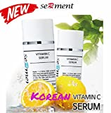 Serment Korean Cosmetics Vitamin C Serum w/Ascorbic acid 10-Vitamin Plant Extracts w/ ASL absorbtion, Anti-aging, Brightening effect, Collagen Synthesis accelearation Review