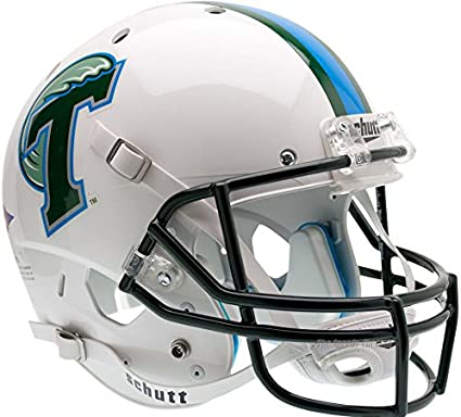 Tulane Green Wave Officially Licensed Full Size XP Replica Football Helmet