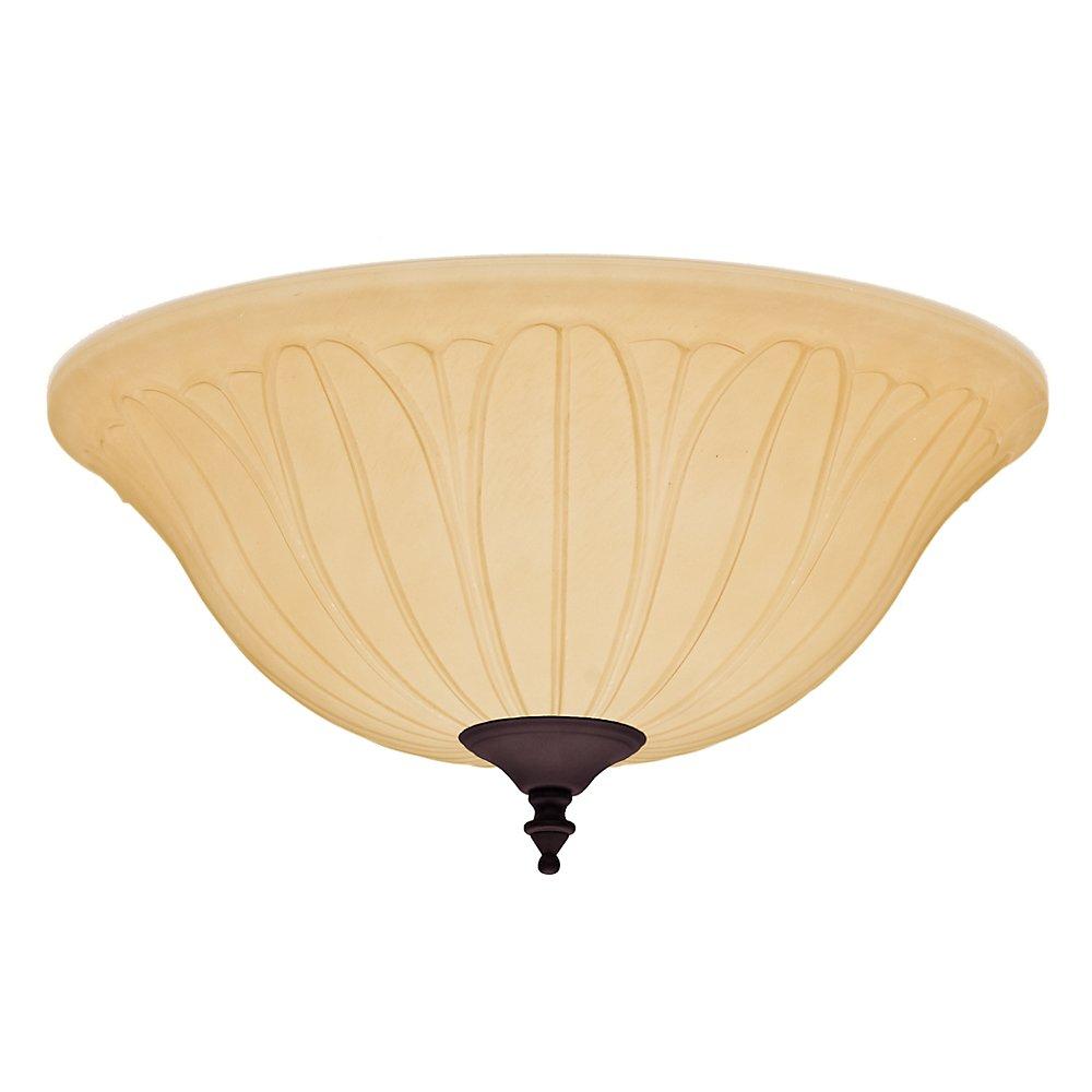 Hunter Fan Company 99155 照明キット ロープロファイル 艶消し ニッケル 99157 1  Tea Stain B00ILFD65C