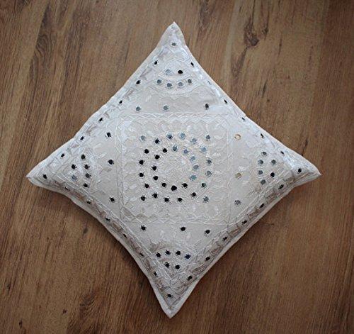 Ganesham- Indian Embroidery Work Handmade Cotton Pillow Case