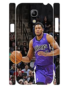 Artistic Collection Mobile Phone Case Manly Man Basketball Athlete Image Snap On Case Cover for Samsung Galaxy S4 Mini I9195 (XBQ-0112T)