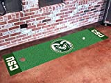 Fanmats NCAA Colorado State University Rams Nylon Face Putting Green Mat