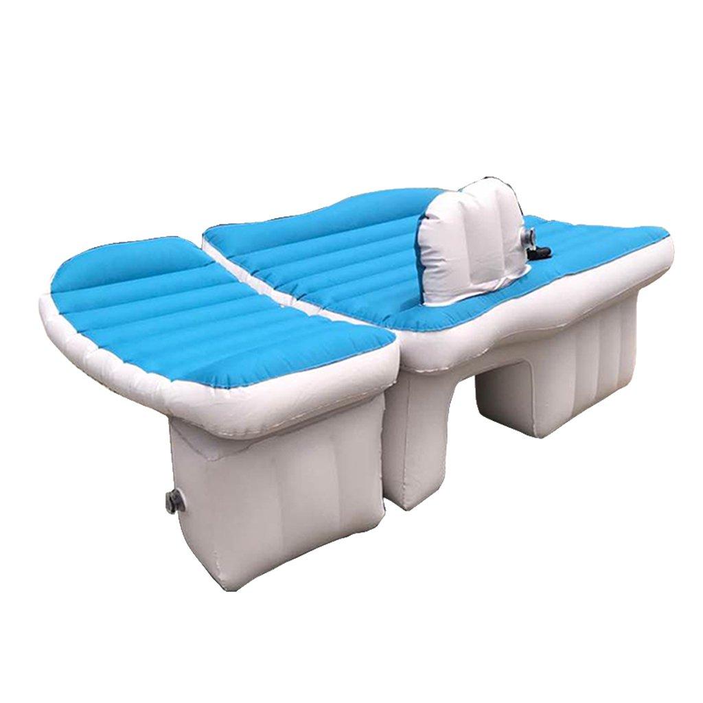 Ye Auto Matratze Auto Luft Bett Multifunktionale Reise Camping Auto Hinten Sitz Aufblasbare Matratze Für Reise und Schlaf Rest (Luftbett × 1 Kissen × 1 Luftpumpe × 1)