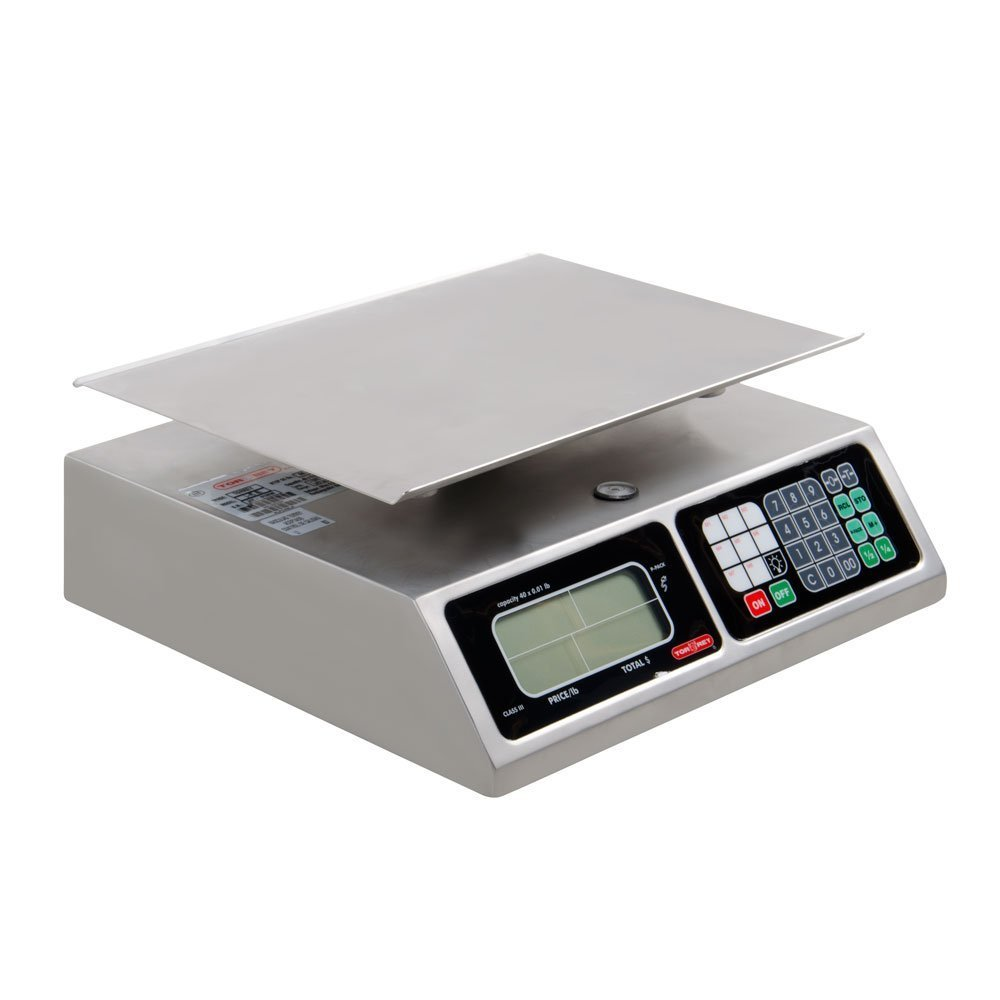 Tor-Rey Farmer's Market Price Computing Scale L-PC-40L