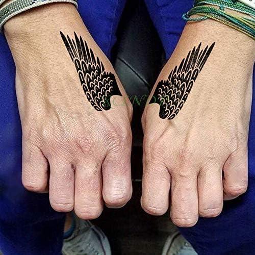 ljmljm 5pcs Tatuaje Impermeable Etiqueta Encantador tamaño pequeño ...