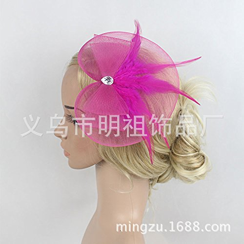 Ornament Ball Portrait - Olici Headdress Accessories/Hair Pins/Party/Prom/Bride/Girls The Portrait Ball Barrette Clips Ms Pink Hair Ornaments