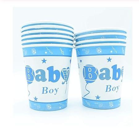 SDRTYHJ 20 unids/Lote Baby Girl Tazas de Papel Vajilla ...