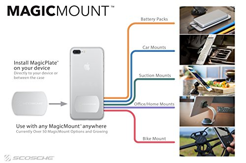 SCOSCHE MagicMount Magnetic Mount Replacement Plate Kit by Scosche (Image #5)