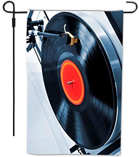 Rikki Knight Vinyl Record on Turntable Design Decorative Hou